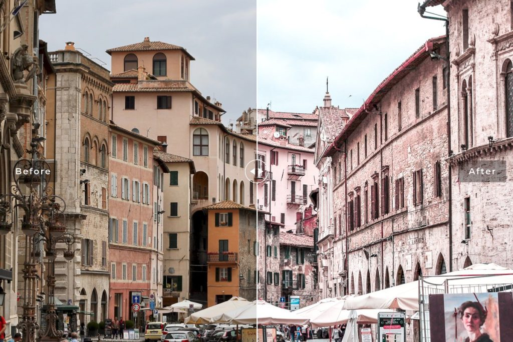 Пресет Perugia для Lightroom